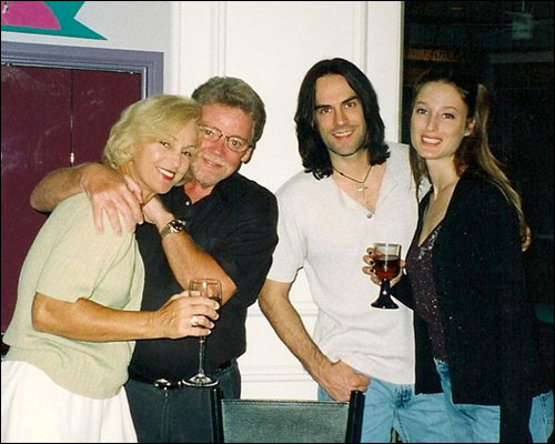 June and Duck Dunn, Bill and Kris Leverty