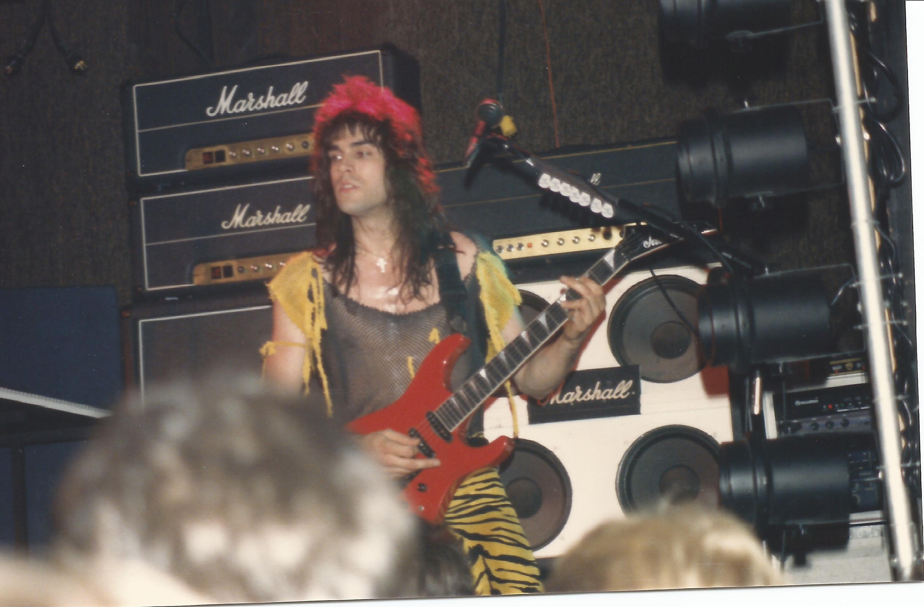 Circa 1986 White Heat Days