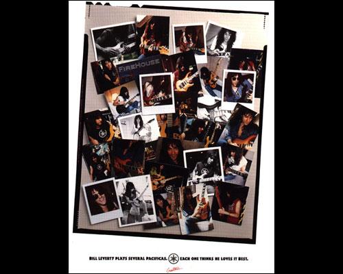 Yamaha Guitar Ad - 1991