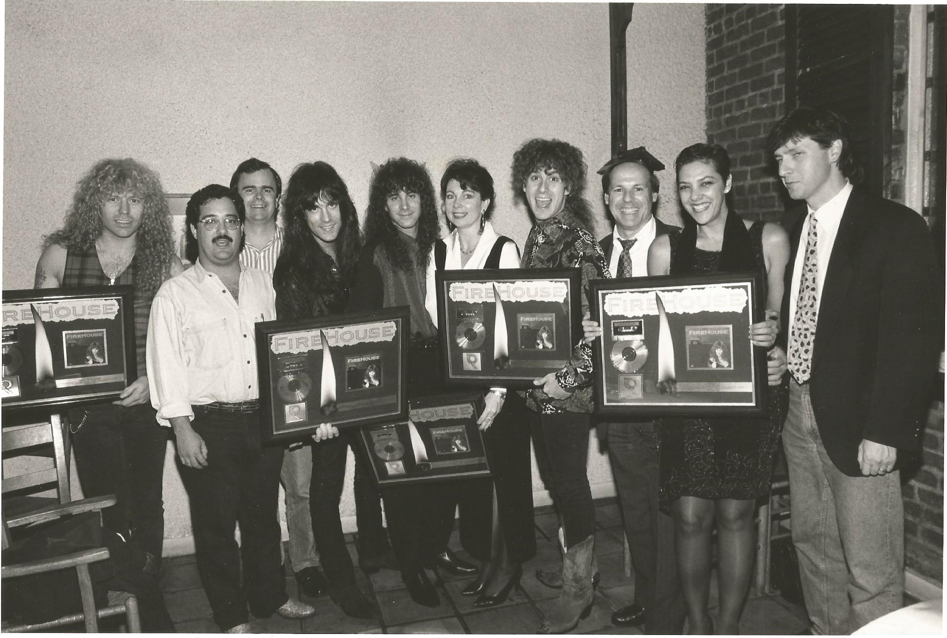 Epic Records Platinum Award