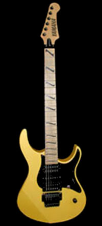 Yellow Yamaha Custom Pacifica